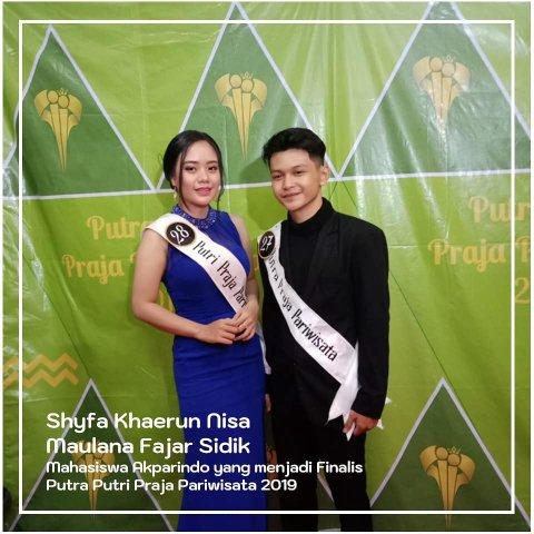 Finalis Putra Putri Praja 2019